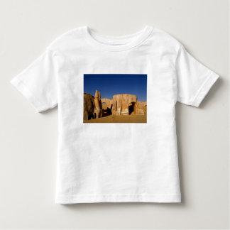 Escenario de película famoso de las películas de camiseta de bebé