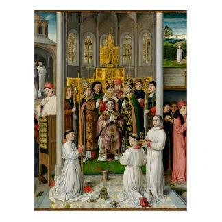 Escenas a partir de la vida de St Augustine Postal