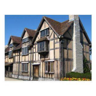 Escenas inglesas, el lugar de nacimiento de Shakes Postal