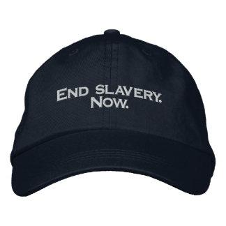 Esclavitud del final. Ahora Gorra Bordada