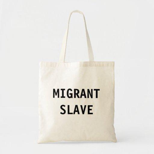 Esclavo del nómada del bolso bolsas de mano