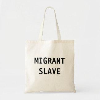 Esclavo del nómada del bolso bolsa tela barata