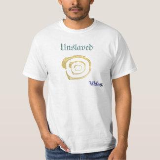 esclavo del salario no más camisetas