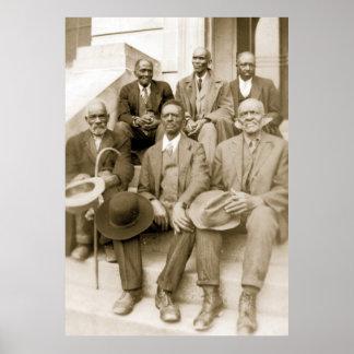 Esclavos anteriores, viejo día auxiliar, Southern  Póster