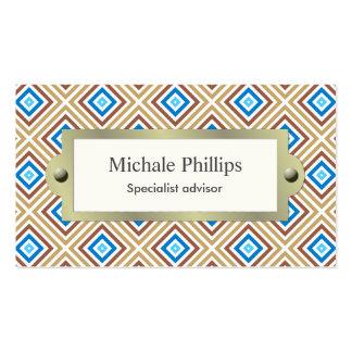 Escocés cuadros color colorido cuadrado colores tarjetas de visita