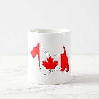 Escocés Terrier Canadá Taza De Café