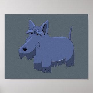 Escocés Terrier Póster