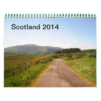 Escocia 2014 calendario de pared
