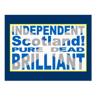 Escocia independiente pura muerto brillante