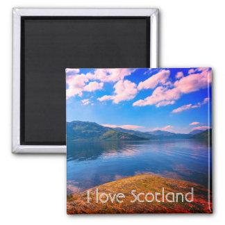 Escocia, Loch Lomond, imán del refrigerador