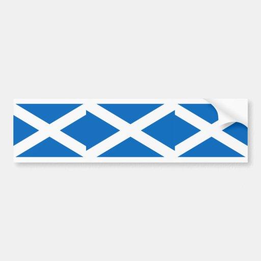 Escocia, Reino Unido Pegatina De Parachoque