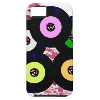 Escoge el fondo del jazz de la colección funda para iPhone SE/5/5s