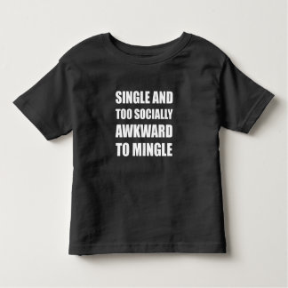 Escoja social torpe mezclan camiseta de bebé