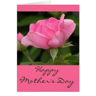 Esconda la tarjeta feliz interior del día de madre