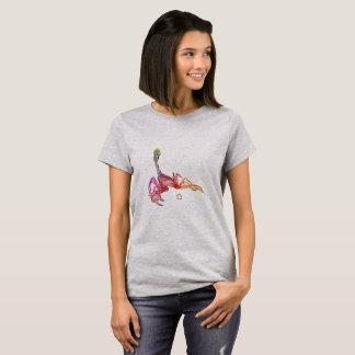 Escorpión coloreado 3D Camiseta