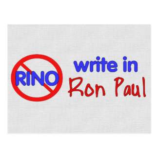 ESCRIBA EN RON PAUL POSTAL