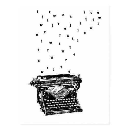 Escriba la postal