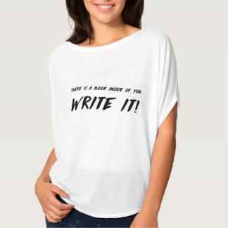 ¡Escríbalo! Camisa