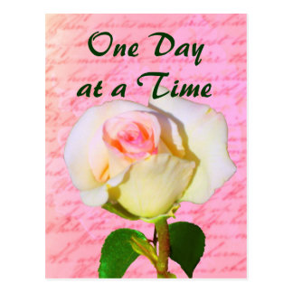 Escrito con ODAT color de rosa Tarjeta Postal