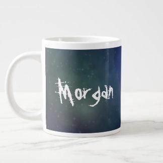 Escrito en las estrellas taza de café gigante