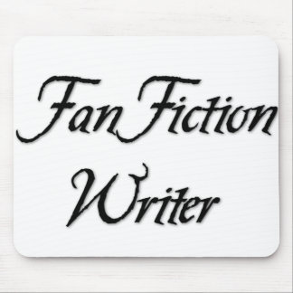 Escritor de la ficción de fan alfombrilla de ratón