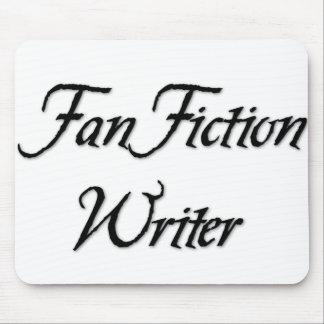 Escritor de la ficción de fan alfombrillas de ratones