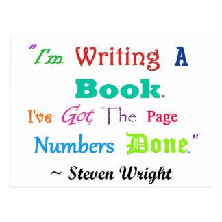 Escritores por todas partes V.2 de los escritores Postal