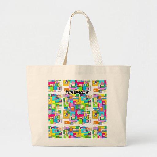 Escritorios sucios bolsas de mano