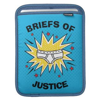 Escritos de capitán Underpants el | de la justicia Funda Para iPad