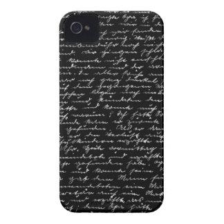 Escritura Carcasa Para iPhone 4 De Case-Mate