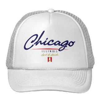 Escritura de Chicago Gorras