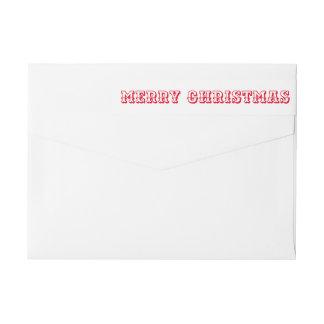 Escritura intrépida roja de la tipografía de las