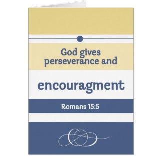 Escrituras del estímulo tarjeta de felicitación