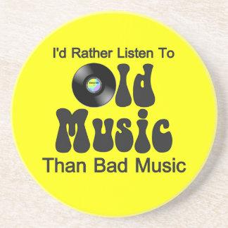 Escucharía bastante la vieja música que mala músic posavasos manualidades