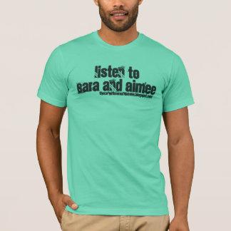 Escuche la camisa de Sara y de Aimee