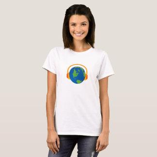 Escuche la camiseta de la tierra