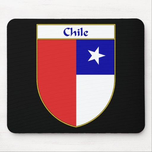 Escudo chileno de la bandera tapetes de raton