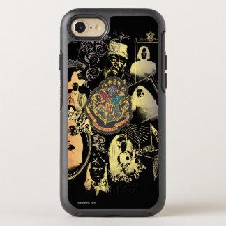 Escudo colorido de Harry Potter el | Hogwarts Funda OtterBox Symmetry Para iPhone 8/7