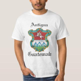 Escudo de Antigua ciudad de Guatemala Camisas