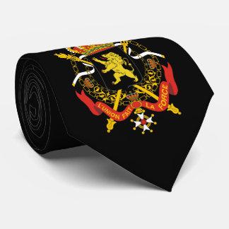 Escudo de armas belga corbata