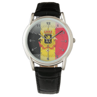 Escudo de armas belga reloj
