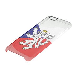 Escudo de armas bohemio funda transparente para iPhone 6/6S