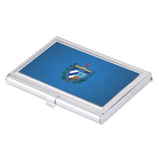 Escudo de armas cubano cajas de tarjetas de negocios