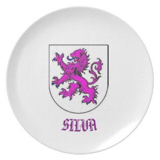 Escudo de armas CustomPlate de la familia del Plato