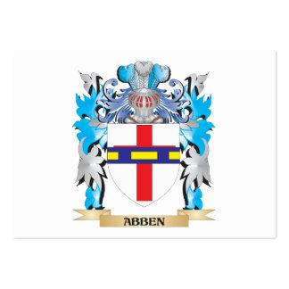 Escudo de armas de Abben Plantillas De Tarjeta De Negocio