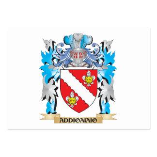 Escudo de armas de Addioaiaio Plantillas De Tarjetas De Visita