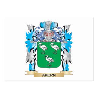 Escudo de armas de Ahern Tarjeta De Visita