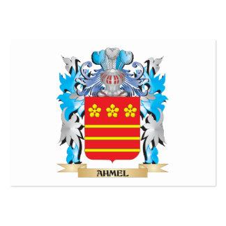 Escudo de armas de Ahmel Tarjeta De Negocio
