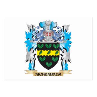 Escudo de armas de Aichenbaum Plantillas De Tarjeta De Negocio