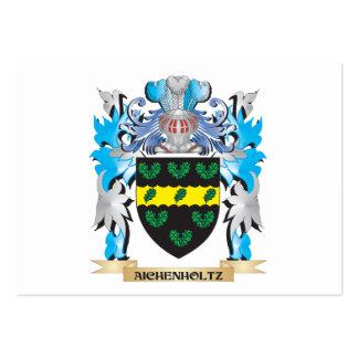 Escudo de armas de Aichenholtz Plantillas De Tarjetas Personales